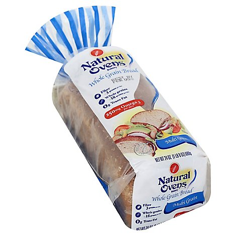 Natural Oven Bread Multigran - 24 Oz