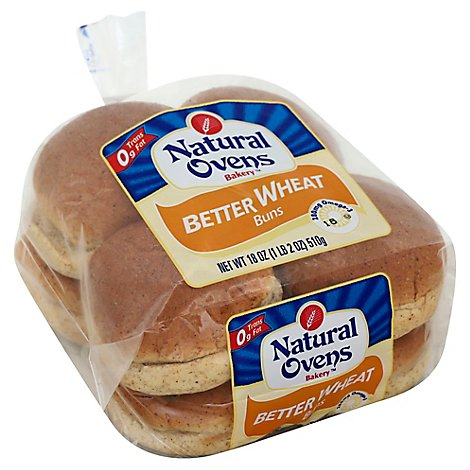 Better Buns Wheat - 18 Oz