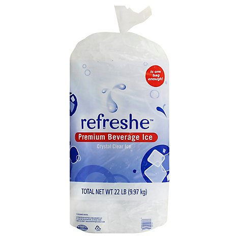 Signature SELECT/Refreshe Ice Cubed Party Ice - 22 Lb
