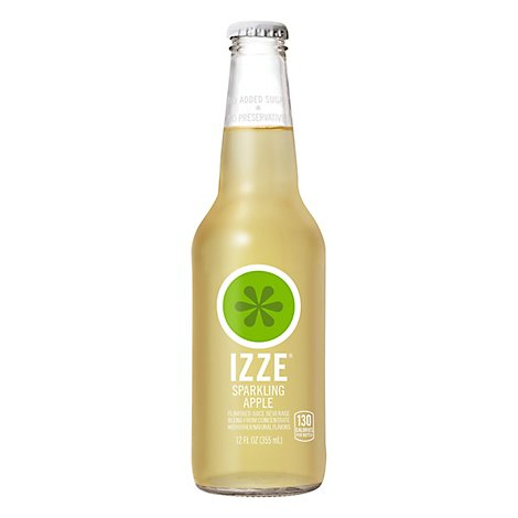Izze Sparkling Juice Apple - 12 Fl. Oz.
