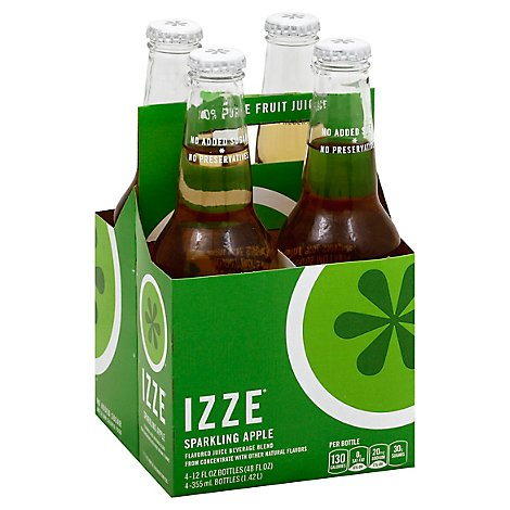 Izze Sparkling Apple - 4-12 Fl. Oz.