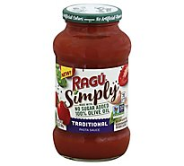 Ragu Simply Traditional - 24 Oz