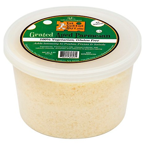 Cheese Guy Grated Parmesan - 8 Oz