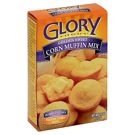 Glory Corn Muffin Mix - 7.5 Oz