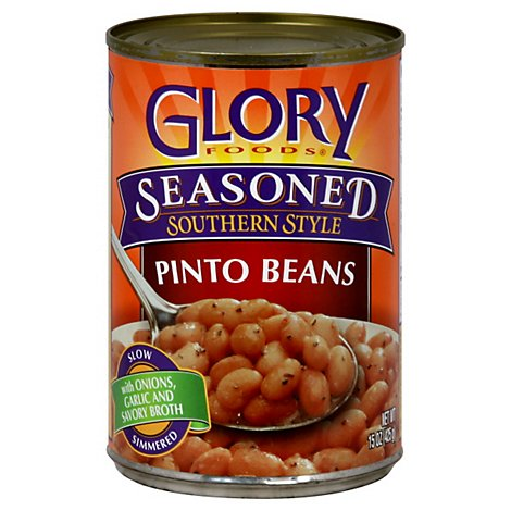 Glory Seasoned Pinto Beans - 15.5 Oz