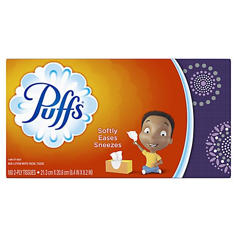 Puffs Basic Family - 180 Count