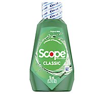 Crest Scope Mouthwash Classic Formula - 1.2 Fl. Oz.