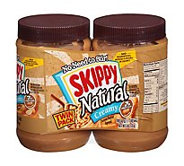Skippy Peanut Butter Spread Creamy Twin Pack - 2-40 Oz