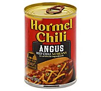 Hormel Angus Chili No Beans - 14 Oz