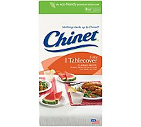 Chinet Tablecover 3-Ply White - Each