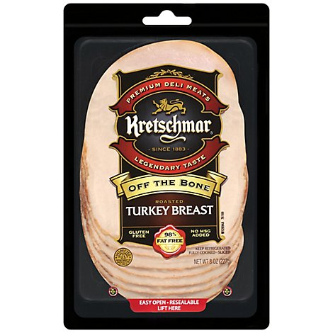 Kretschmar Turkey Off The Bone Pre-Sliced - 8 Oz