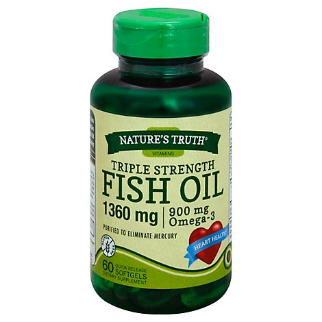 Nt Fish Oil 1360mg - 60