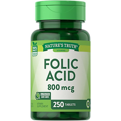 Nt Folic Acid 800mg - 250