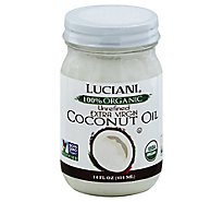 Luciani Organic Extra Virgin Coconut Oil - 14 Fl. Oz.