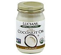 Luciani Organic Refined Coconut Oil - 14 Fl. Oz.