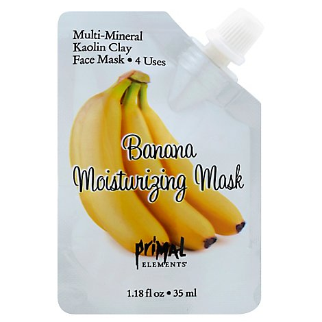 Prml Mask Banana Moisturizing - 1 Each