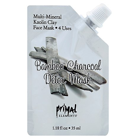 Prml Mask Bamboo Charcoal Deto - 1 Each