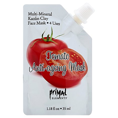 Prml Mask Tomato Anti-Ageing - 1 Each
