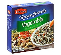 Lipton Soup Vegie Recipe - 1.8 Oz