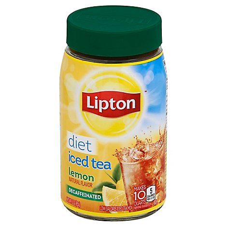 Lipton Diet Decaffeinate Lemon Iced Tea Mix - 3 Oz