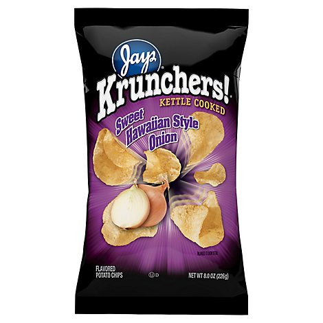 Krunchers Sweet Hawaii Potato Chips - 8 Oz
