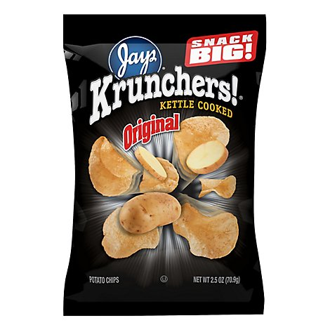 Krunchers 2.5oz Potato Chips - 2.5 Oz