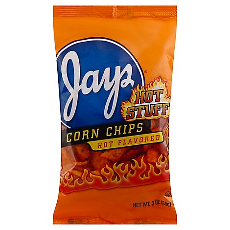 Jays Hot Corn Chips - 3 Oz