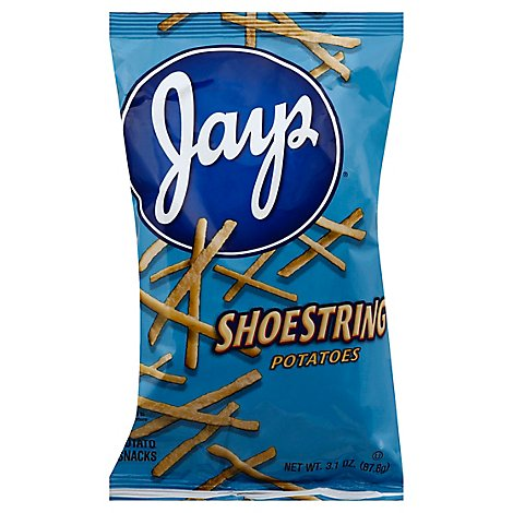 Jays Shoestring Potatoes 3.1 Oz - 3.1 Oz