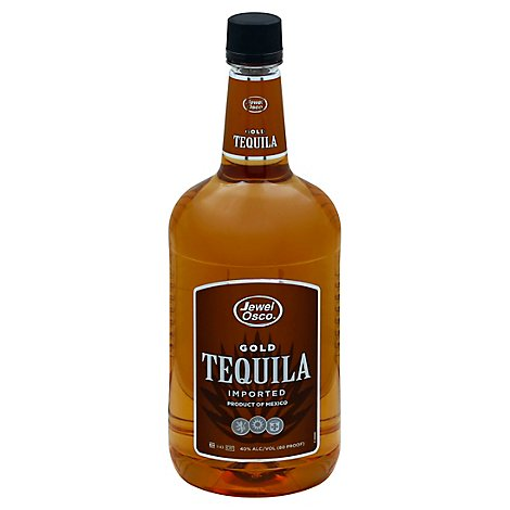Jewel Osco Gold Tequila 80 Proof Pet Bottle - 1.75 Liter