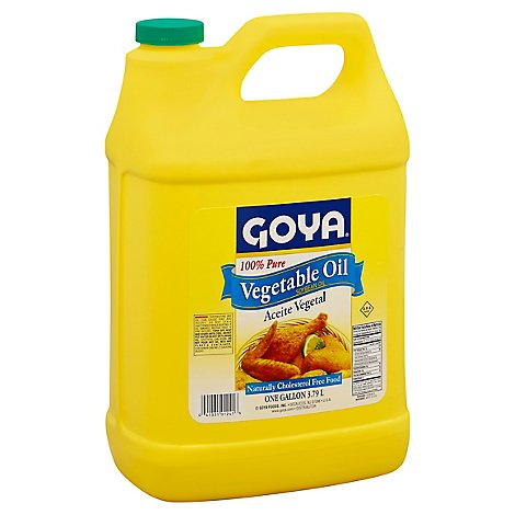 Goya Oil Vegetable Liquid Ckng Salad - 128 Fl. Oz.