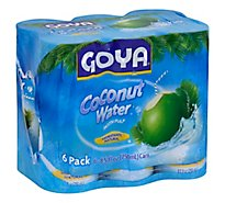 Goya Water Coconut 6 Pack - 6-8.5 Fl. Oz.