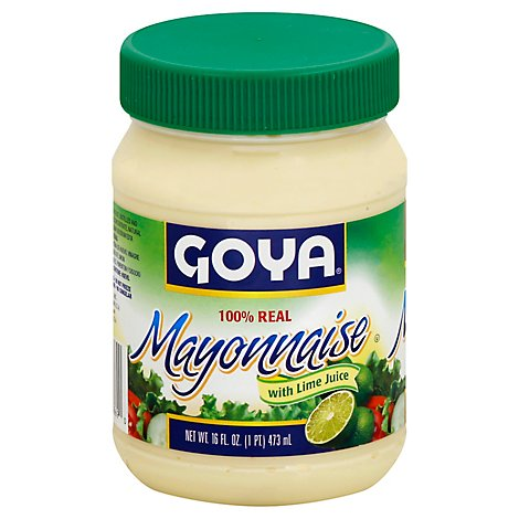 Goya Mayonnaise with Lime - 16 Fl. Oz.