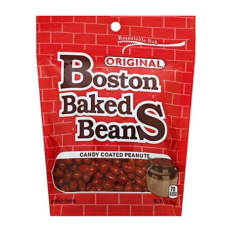 Boston Baked Beans Peanuts Candy Coated - 8 Oz