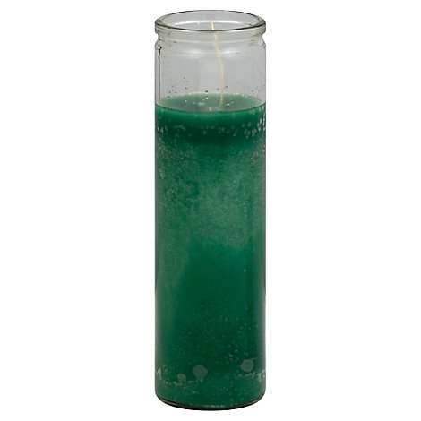 Reed Clear Glass Green - Each