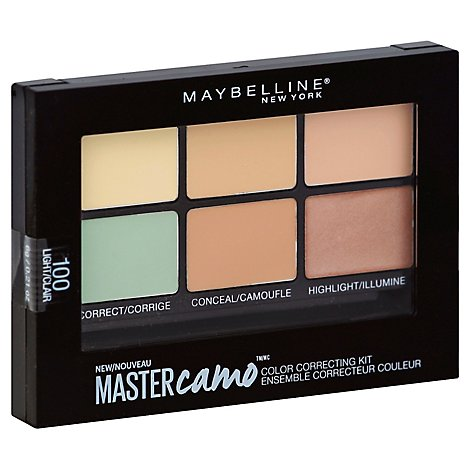 Maybel Fs Master Camo Palette Light - 0.21 Oz