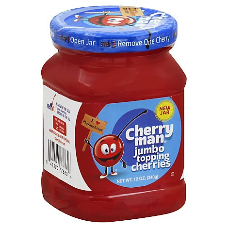 Ch Man Jumb Cherries - 12 Oz