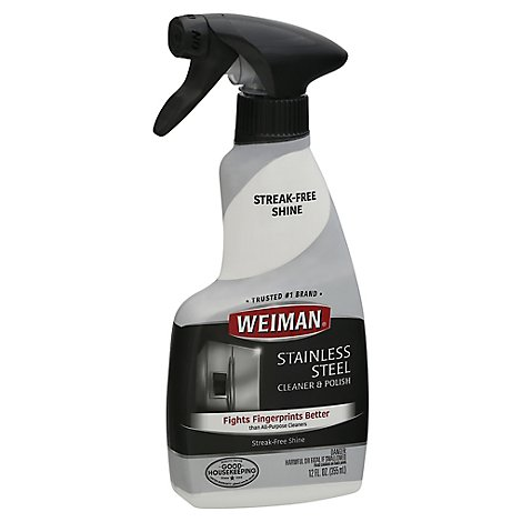 Weiman Stainless Steel Cleaner - 12 Oz