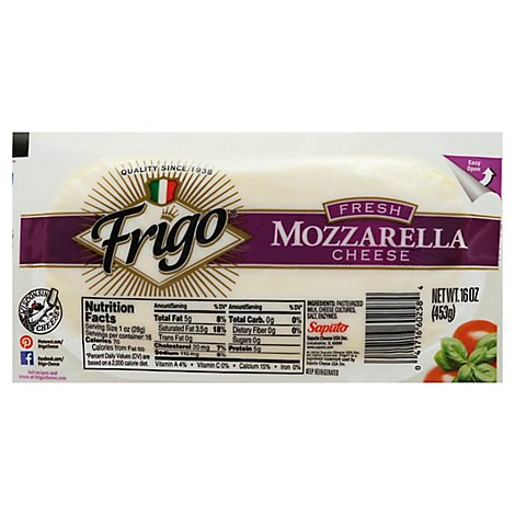 Frigo Cheese Fresh Mozzarella - 16 Oz