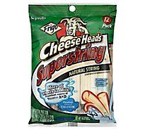 Frigo Cheese Head Superstring Pouch 12 Counts - 10 Oz