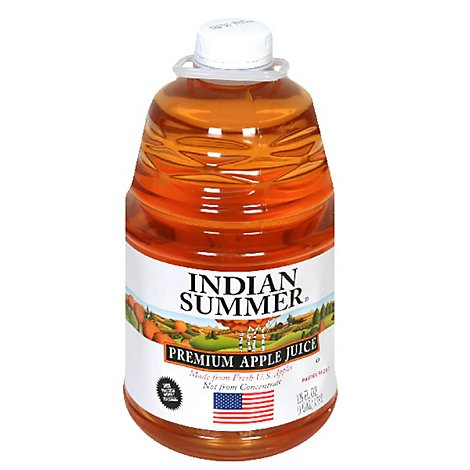Indian Summer Apple Juice - 128 Fl. Oz.