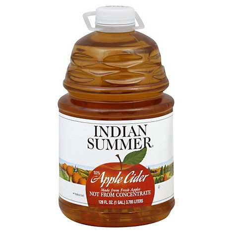 Indian Summer Apple Cider - 128 Fl. Oz.
