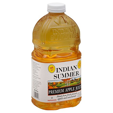 Indian Summer Apple Juice - 64 Fl. Oz.