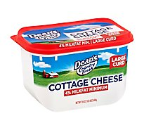Deans Country Fresh Cheese Cottage 4% Milk Fat Minimum - 24 Oz