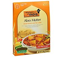 Kitchens Of India Diced Potato And Pea Curry - 10 Oz