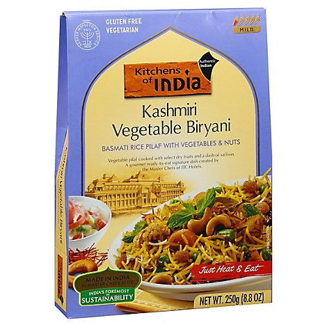 Kitchens Of India Basmati Rice Pilaf With Vegetables And Nuts - 8.8 Oz