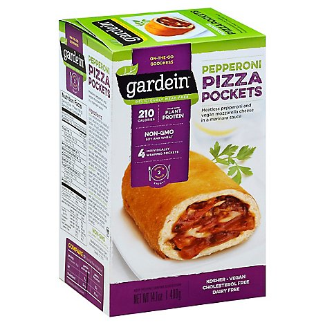 Gardein Pizza Pocket Pepperoni - 14.1 Oz