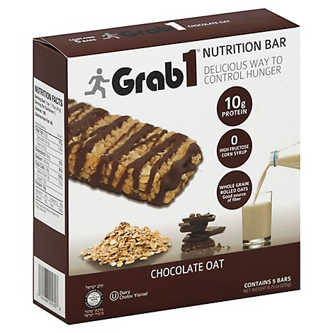 Grab 1 Chocolate Oat Crunch Snack Bar - 8.75 Oz