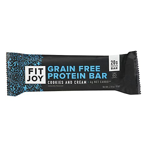 Fitjoy Bars Cookies - 2.11 Oz