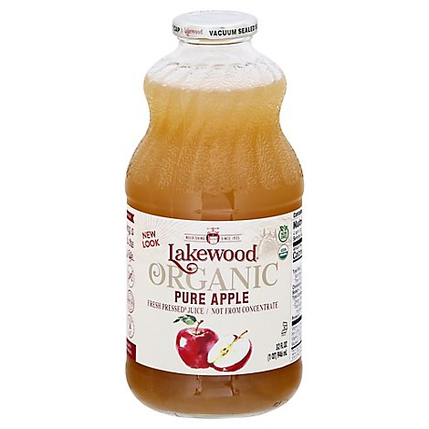 Lakewood  Pure Apple Juice - 32 Fl. Oz.