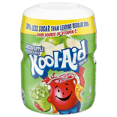 Koolaid Pwdr Drink Mx Grnapl - 19.5 Oz